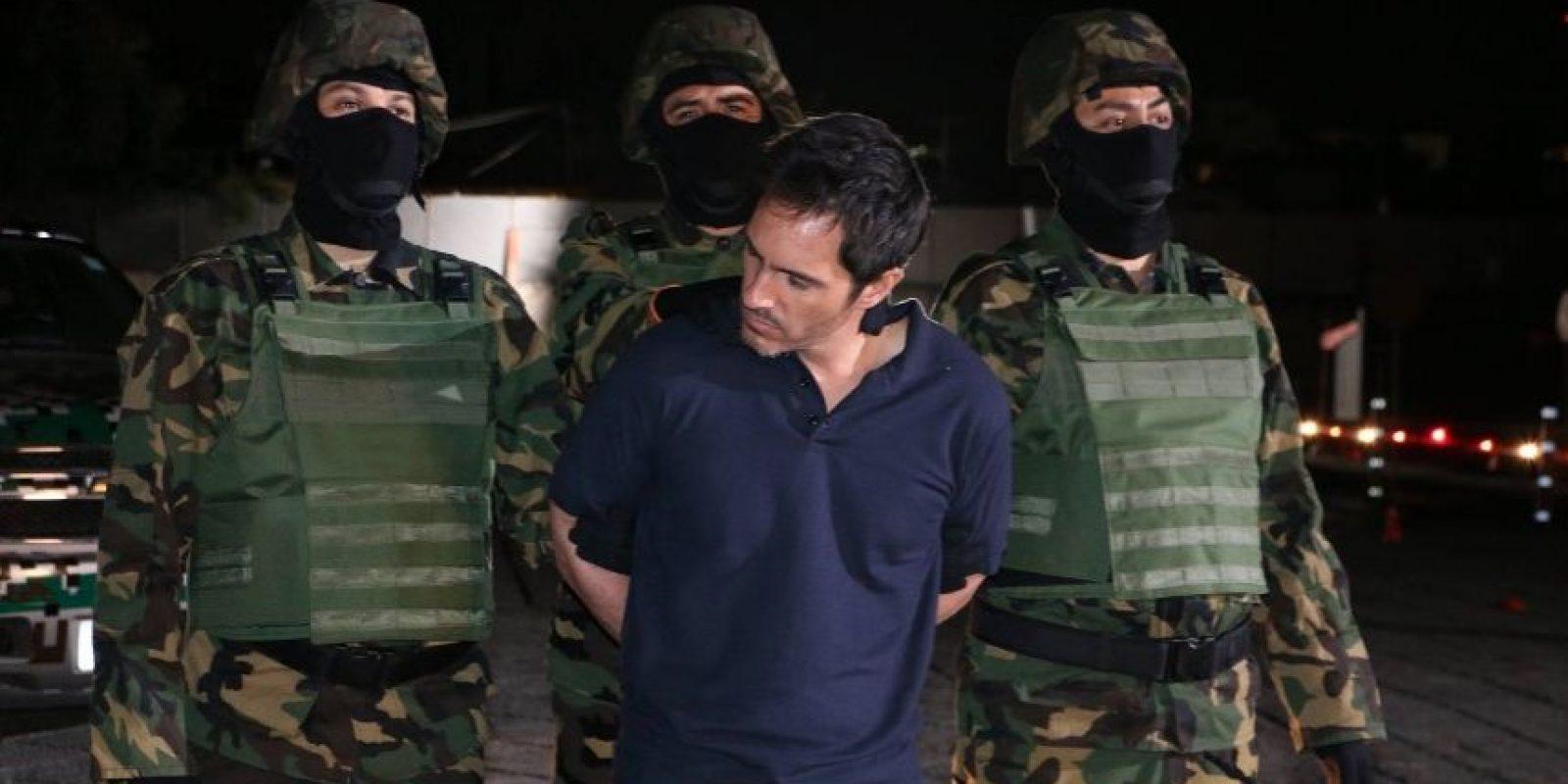 """Así luce Mauricio Ochmann como """"El Chapo"""" Foto:Facebook/ElChema"""