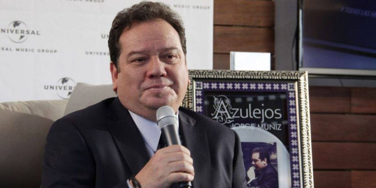Jorge Muñiz le canta al amor en
