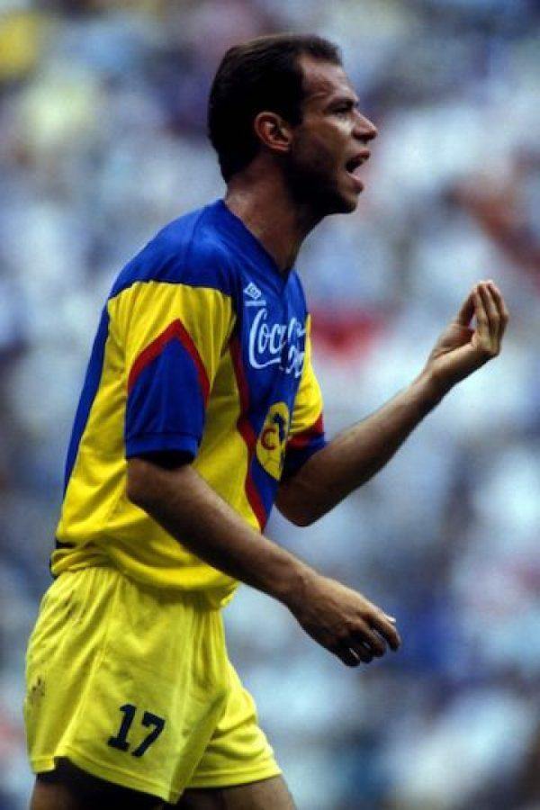 Luis Roberto Alves 'Zague', máximo goleador de las águilas Foto:Mexsport