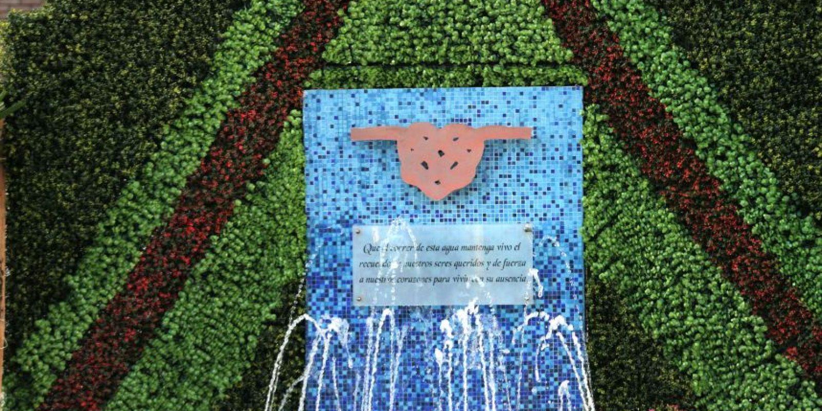 Monumento en nombre conmemoración de las víctimas Foto:cuartoscuro
