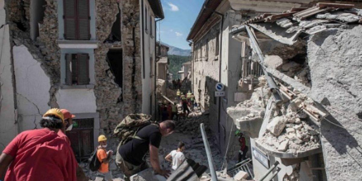 Nuevo sismo sacude Italia provocando más derrumbes