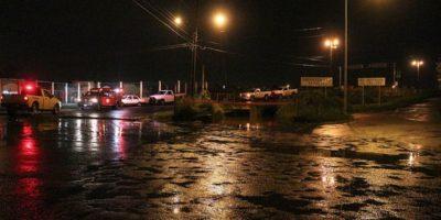 Las autoridades trabajan para reabrir las avenidas Foto:Gobierno de Tlajomulco