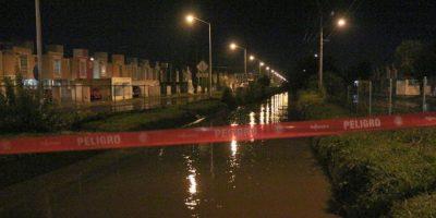 Muchas avenidas resultaron inundadas Foto:Gobierno de Tlajomulco