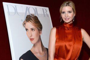 Ivanka Trump, hija de Donald Trump, ha presentado sus colecciones aquí Foto:Getty Images