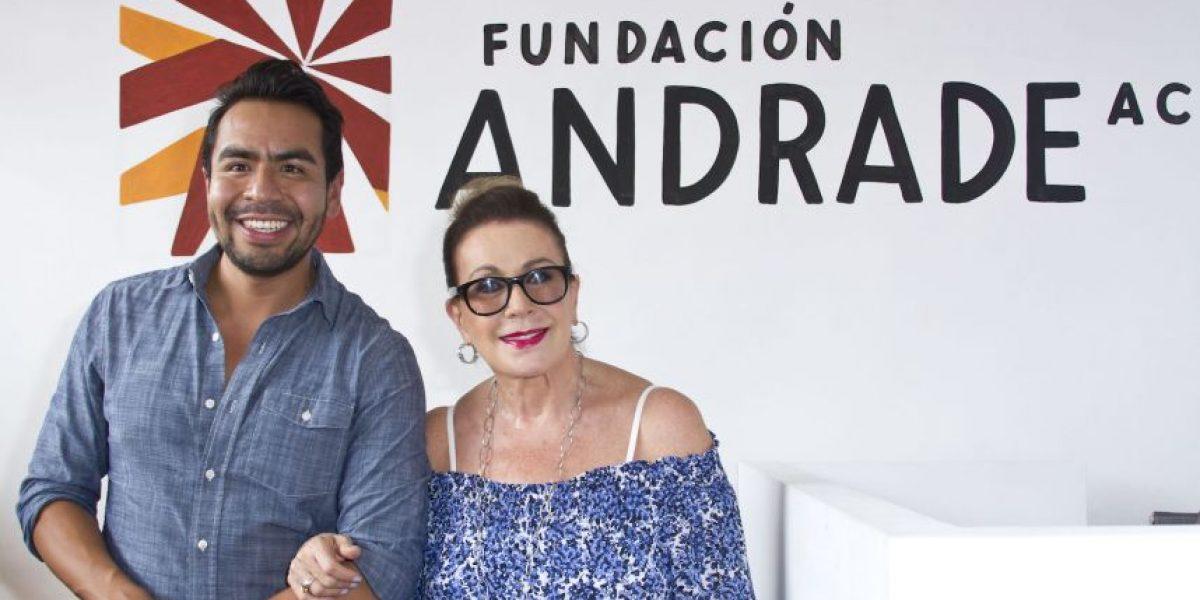 Laura Zapata inaugura la Fundación Andrade en Veracruz