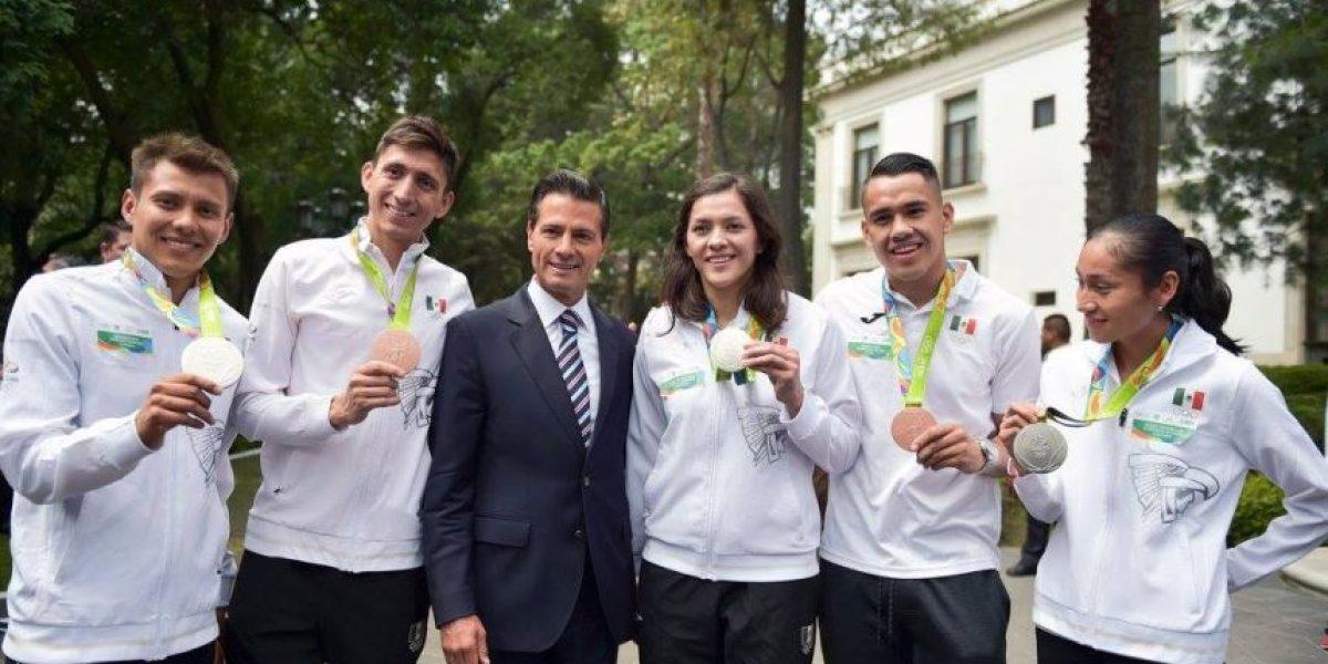 Peña se reúne con deportistas que participaron en Rio 2016