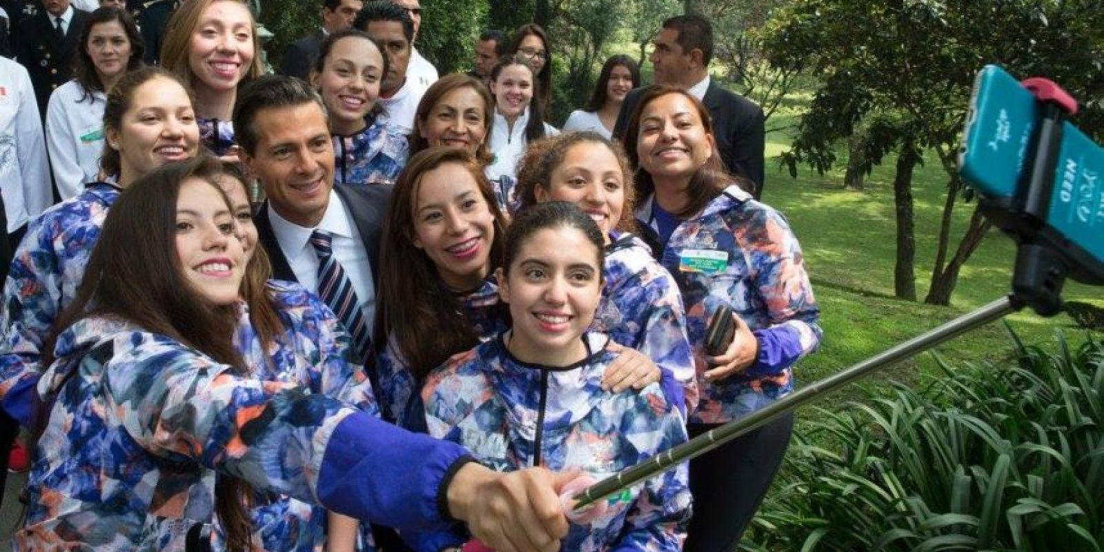 Medallistas mexicanos se reunen con EPN Foto:Facebook Presidencia