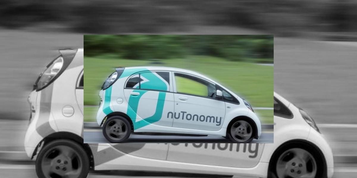 El primer taxi autónomo arranca en Singapur