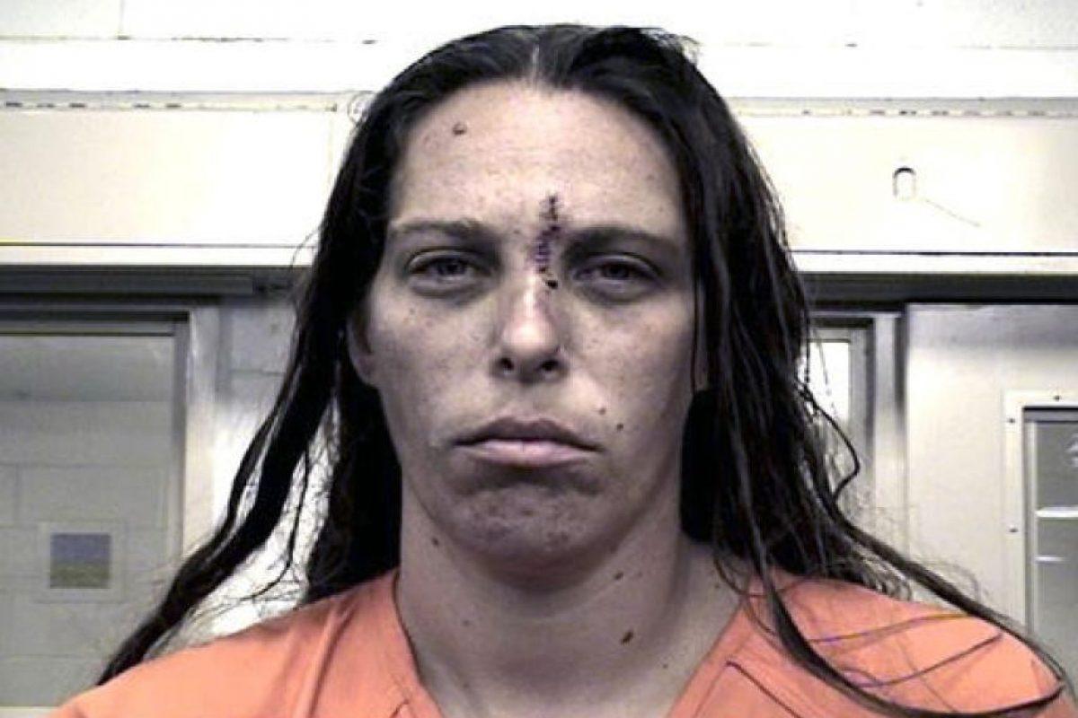 Michelle Martens, madre de la menor Foto:AP