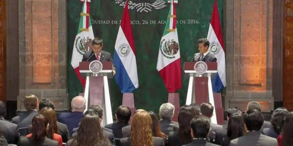México y Paraguay acuerdan disminuir aranceles