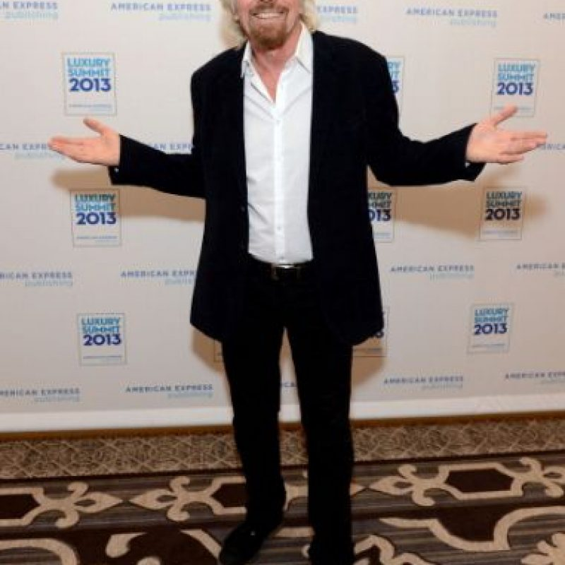 Es CEo del grupo Virgin Foto: Getty Images