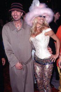 Pamela Anderson y Tommy Lee en 1999. Fueron un rave en Nueva York, amanecieron y quedaron así. Foto:Getty Images