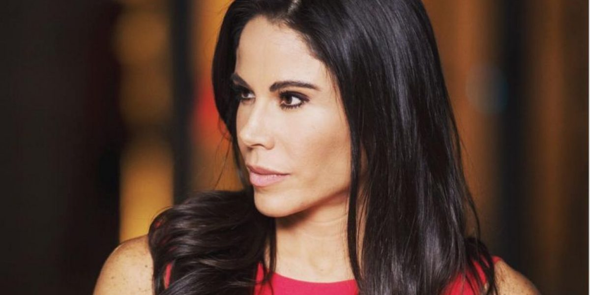 Paola Rojas luce cada vez más delgada