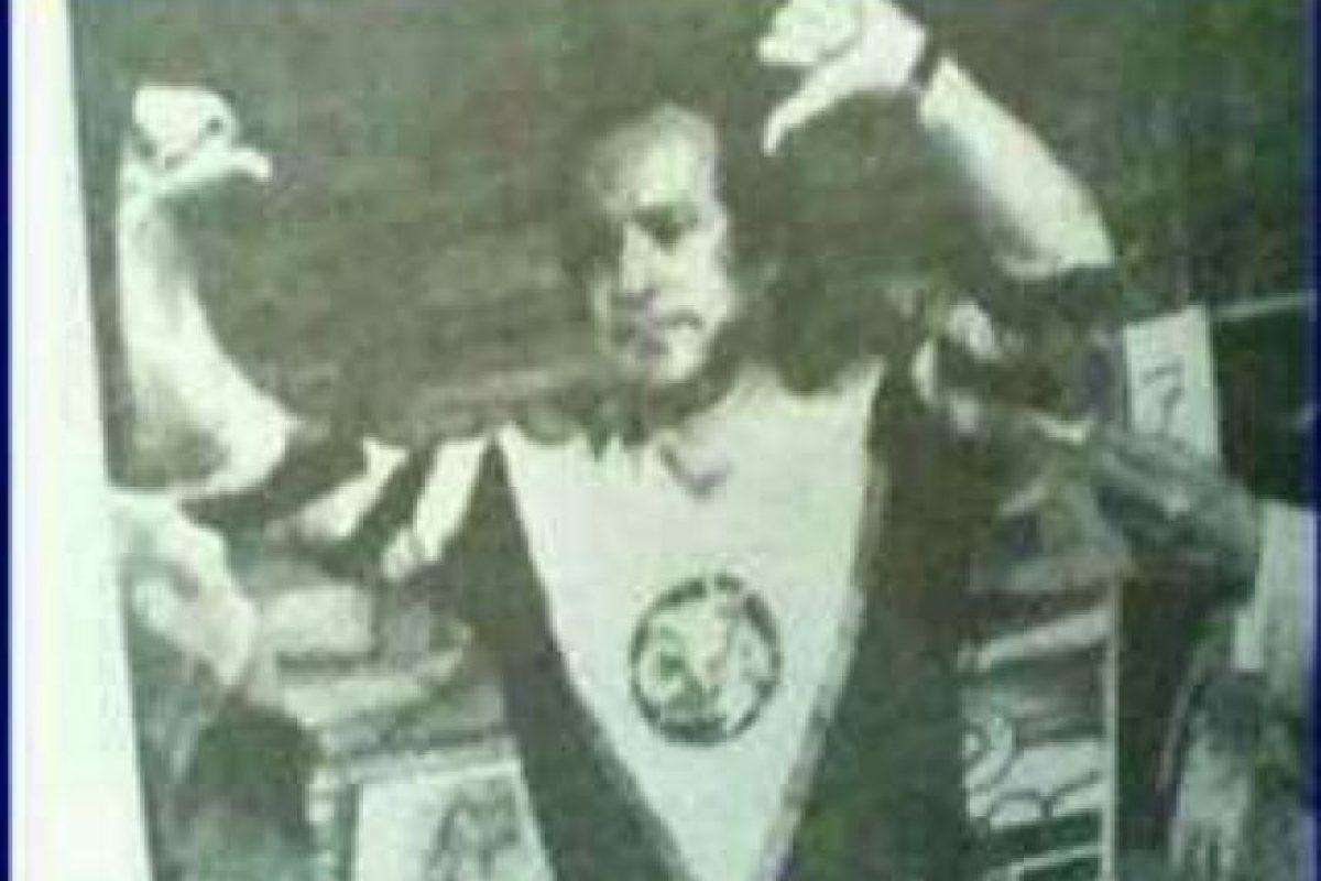 José Ramón, decada de los 80's Foto:Especial