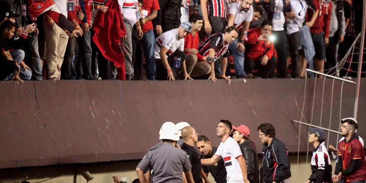 VIDEO: Aficionados golpean y roban a jugadores del Sao Paulo