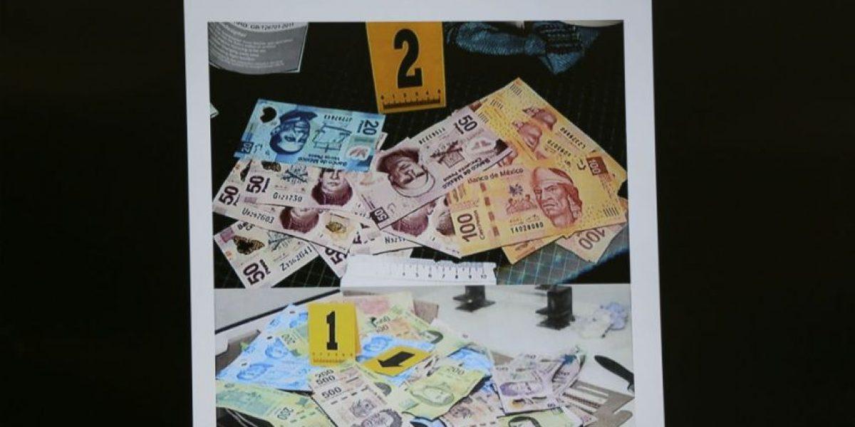 Detienen a hombre con más de 186 mil pesos en billetes falsos
