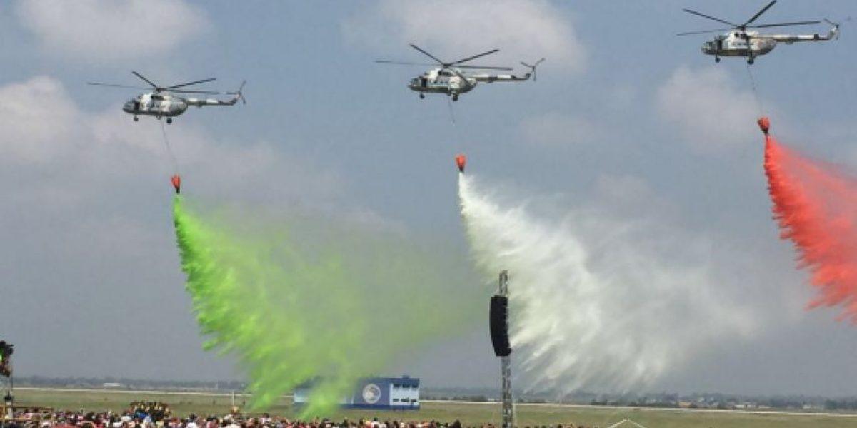 Así se vivió el espectáculo aéreo militar de la SEDENA