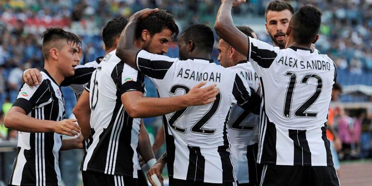 La Juve apenas pudo con Lazio con dedicatoria a las víctimas del terremoto