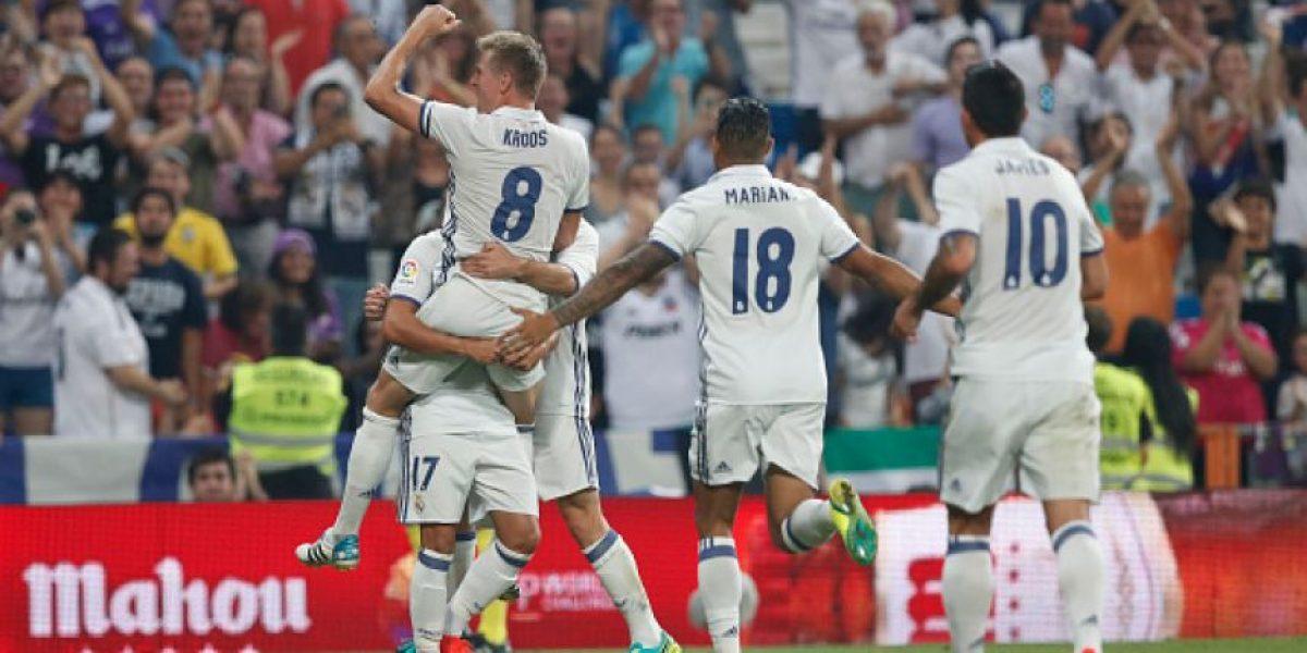 Toni Kross sale al rescate del Real Madrid ante el Celta de Vigo