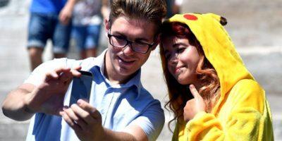 Desde su estreno mundial, Pokémon Go fue un éxito rotundo, rompiendo en pocos días la mayoría de los récords de las aplicaciones para celulares Foto:Getty Images