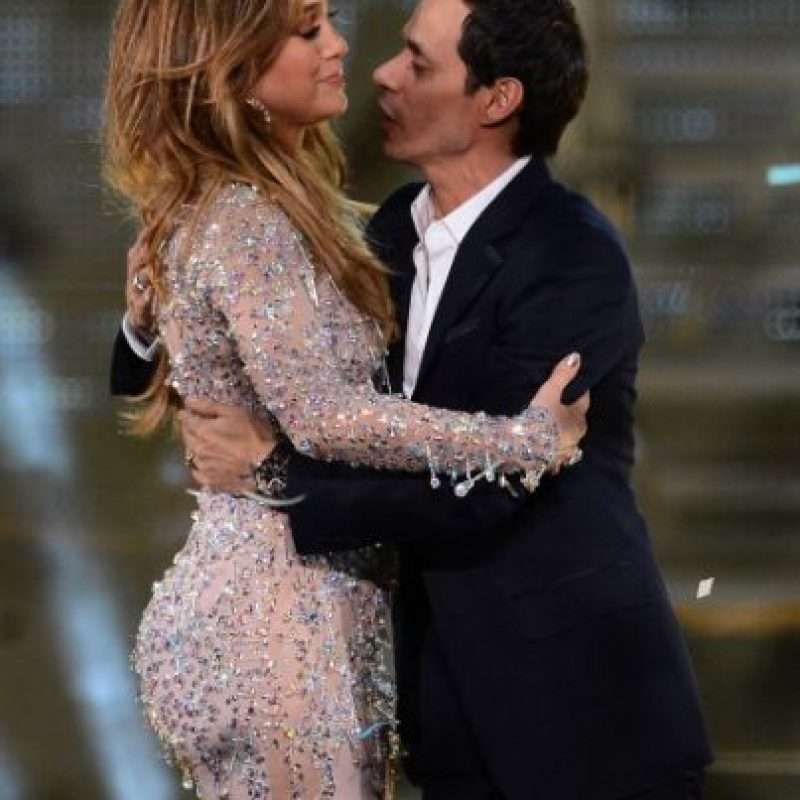 Jennifer López y Marc Anthony Foto: Getty Images