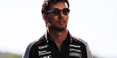 """""""Checo"""" Pérez concluye quinto en el GP de Bélgica; Gutiérrez 12 Foto:Getty Images"""