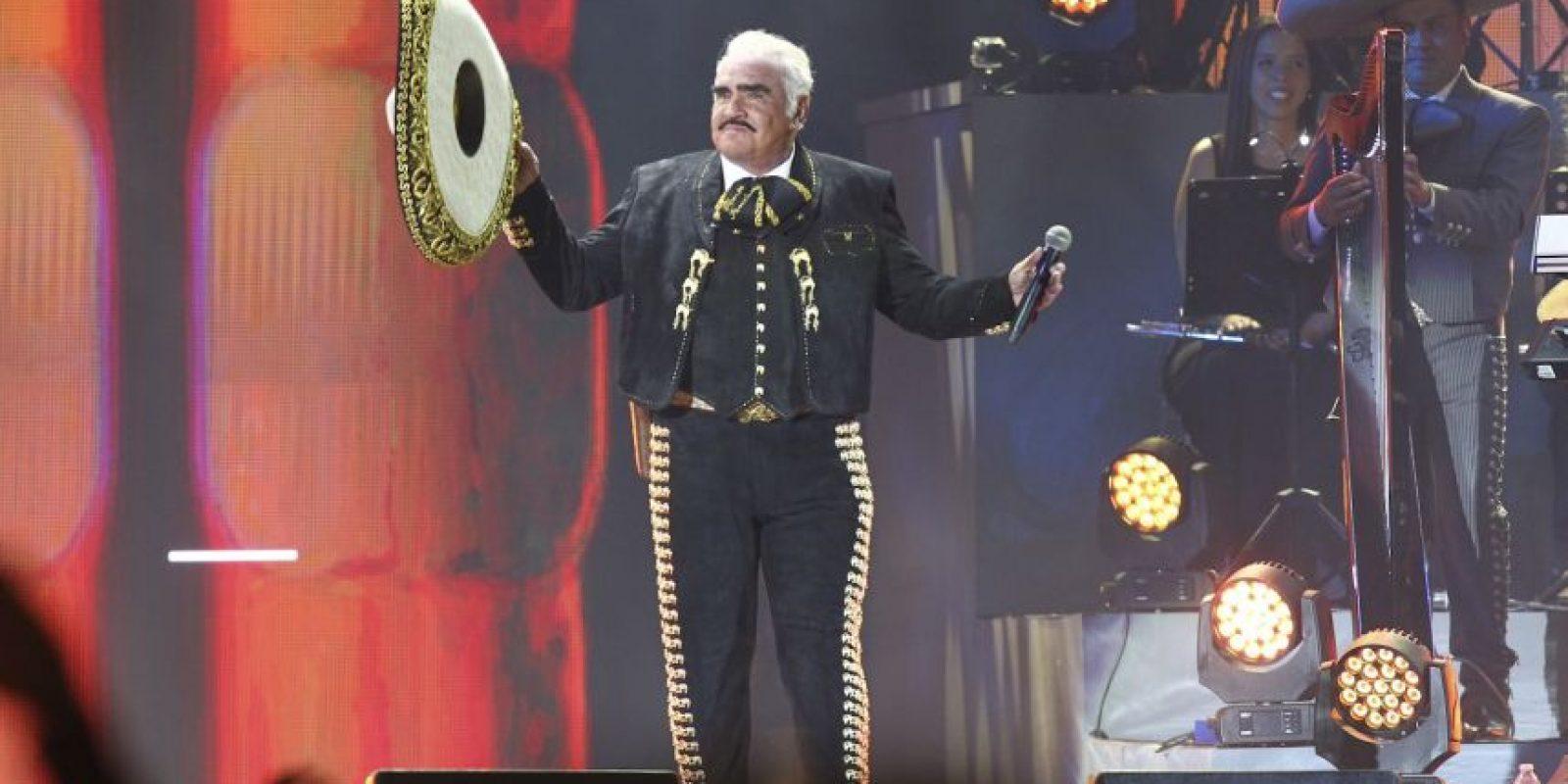Vicente Fernández Foto:Cuartoscuro