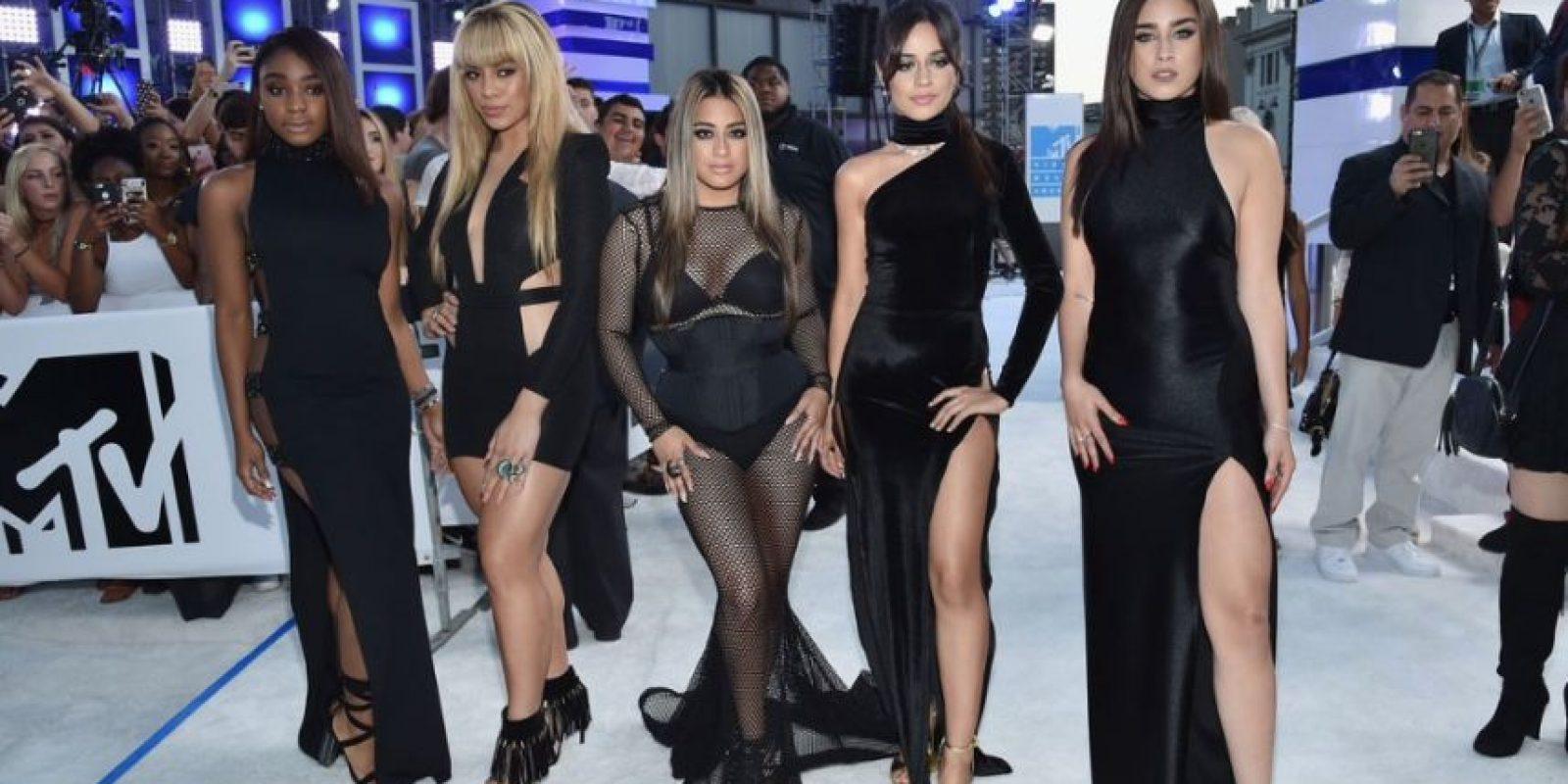 Fifth Harmony, otra vez. Cuando se vistan bien, Kim Kardashian será más elegante que Victoria Beckham. Foto:Getty Images