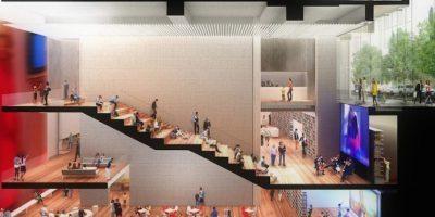 Las reflexiones de Norten provienen de su trabajo en el recinto de la calle 53, justo frente al Museo de Arte Moderno (MoMA), y en otras dos bibliotecas, una en el condado de Brooklyn y otra en Washington D.C. Foto:Cortesia Ten Arquitectos
