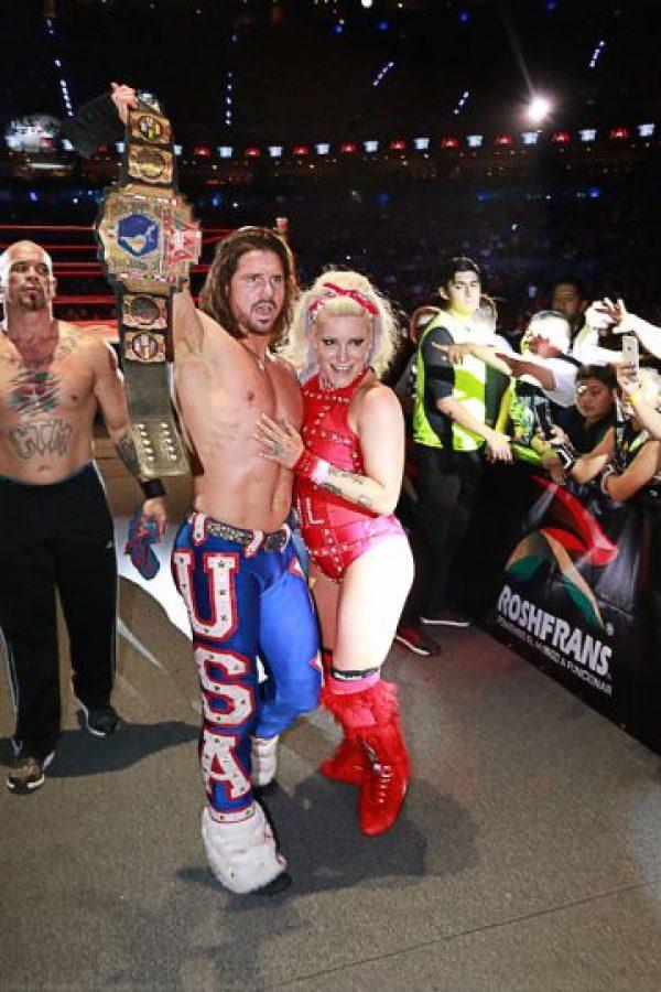 Johnny Mundo logró capturar el Campeonato Latinoamericano AAA al vencer a Pentagón Jr., Foto:AAA