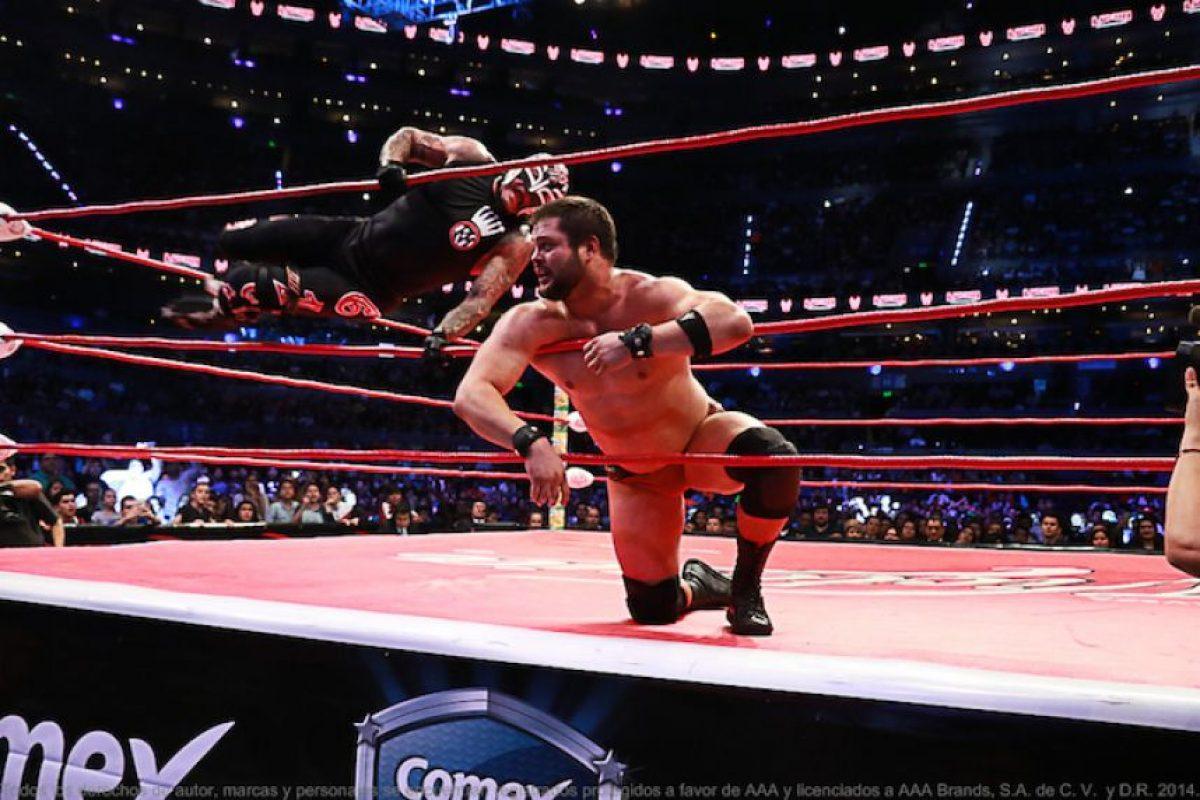 En el turno especial, Rey Mysterio volvió a México Foto:AAA