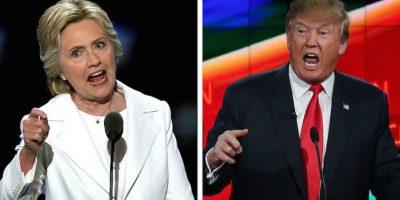 Tanto en la candidata presidencial demócrata como el republicano enfrentan el escepticismo de los votantes registrados. Foto:Getty Images/ Archivo