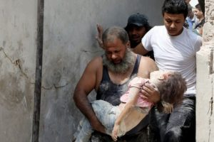 Los bombardeos han dejado más civiles muertos que las filas del grupo yihadista. Foto:Getty Images/ Archivo
