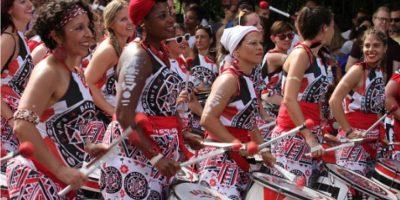El Carnaval de Notting Hill Carnival es celebrado desde 1964, donde participan cerca de un millón de personas. Foto:Getty images