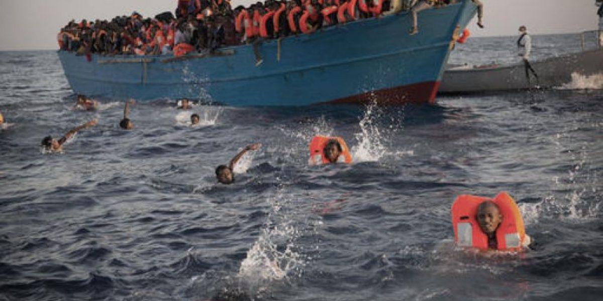 Italia rescata a 6.500 inmigrantes en el mar Mediterráneo