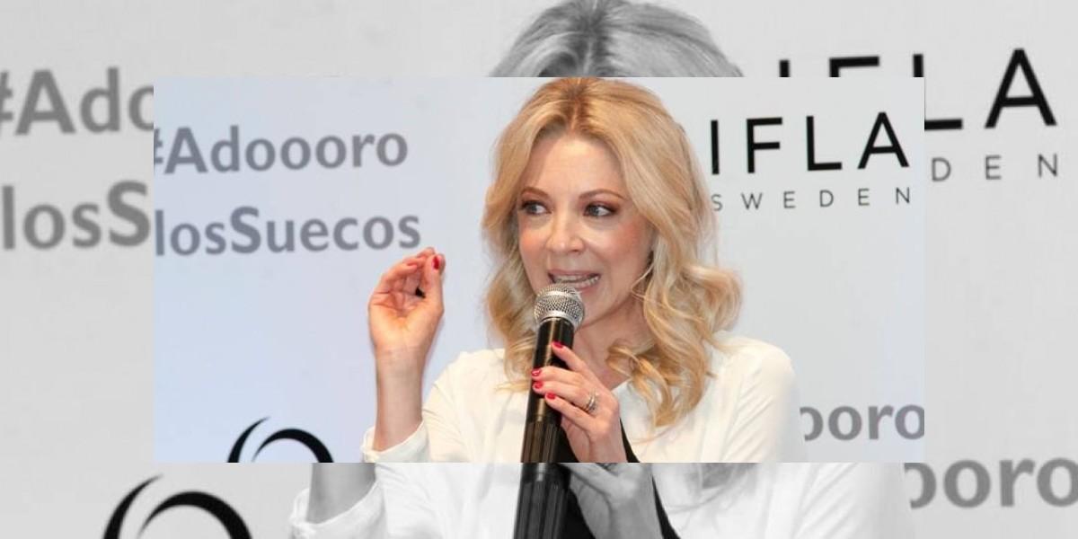 Edith González enfrenta la enfermedad con un nuevo look