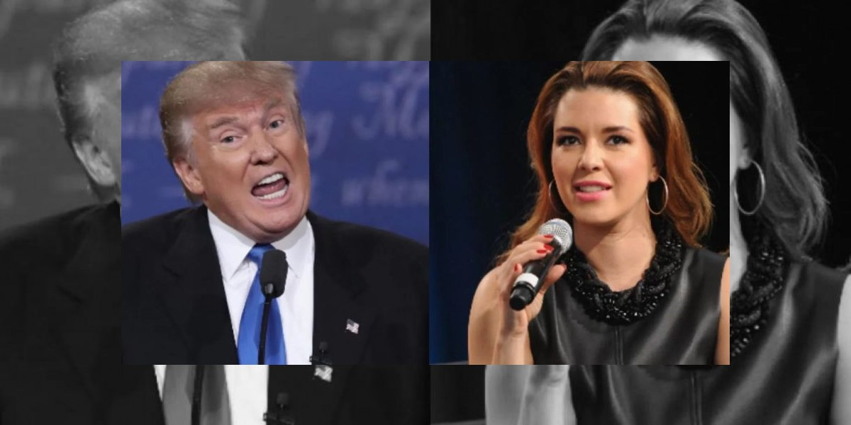 Alicia Machado responde a las agresiones de Donald Trump