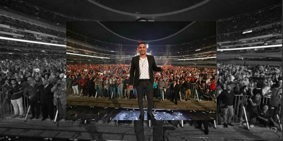 Espinoza Paz se cae del escenario en pleno concierto