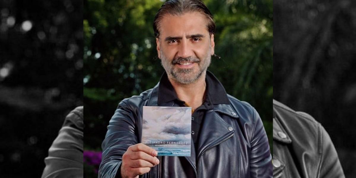 Alejandro Fernández ofrecerá concierto en los Jardines de México