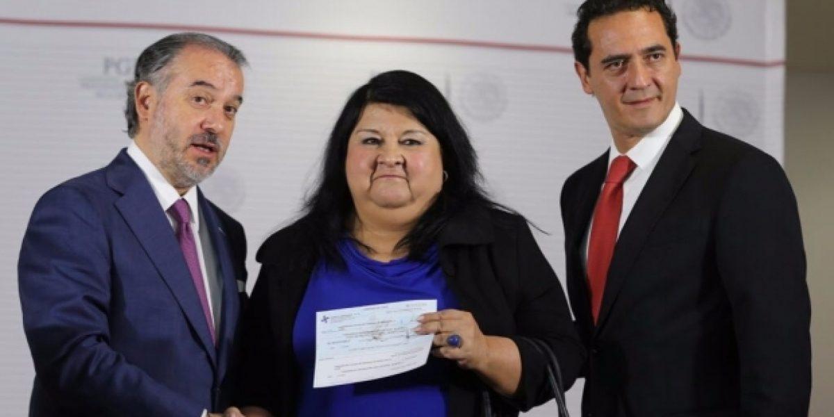 PGR entrega 250 mdp al gobierno de Veracruz