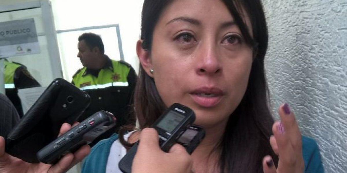 Denuncian agresión de policías contra reportera en el Estado de México