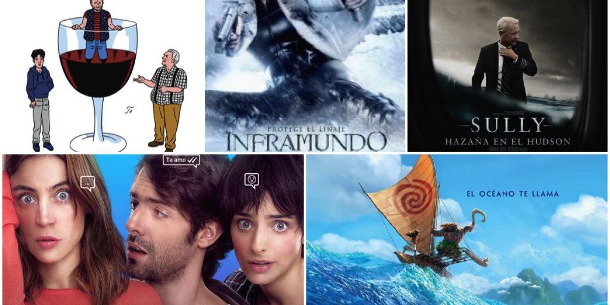 Estrenos de películas: Cartelera del 2 de diciembre de 2016