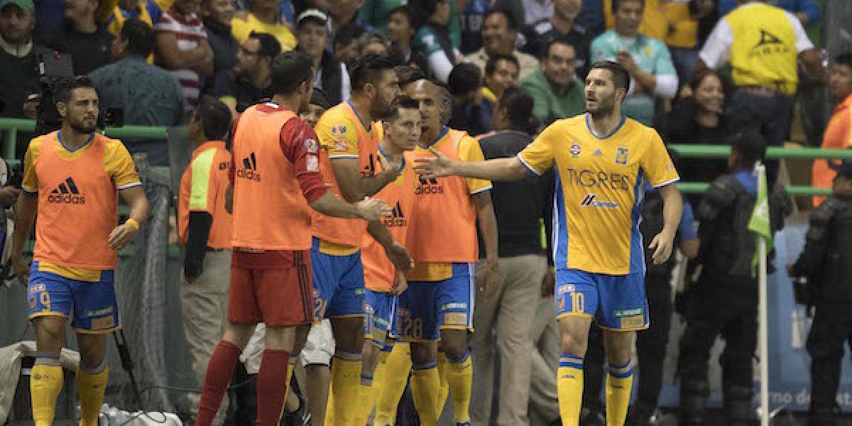 León cae ante Tigres en la ida de las semifinales del Apertura 2016