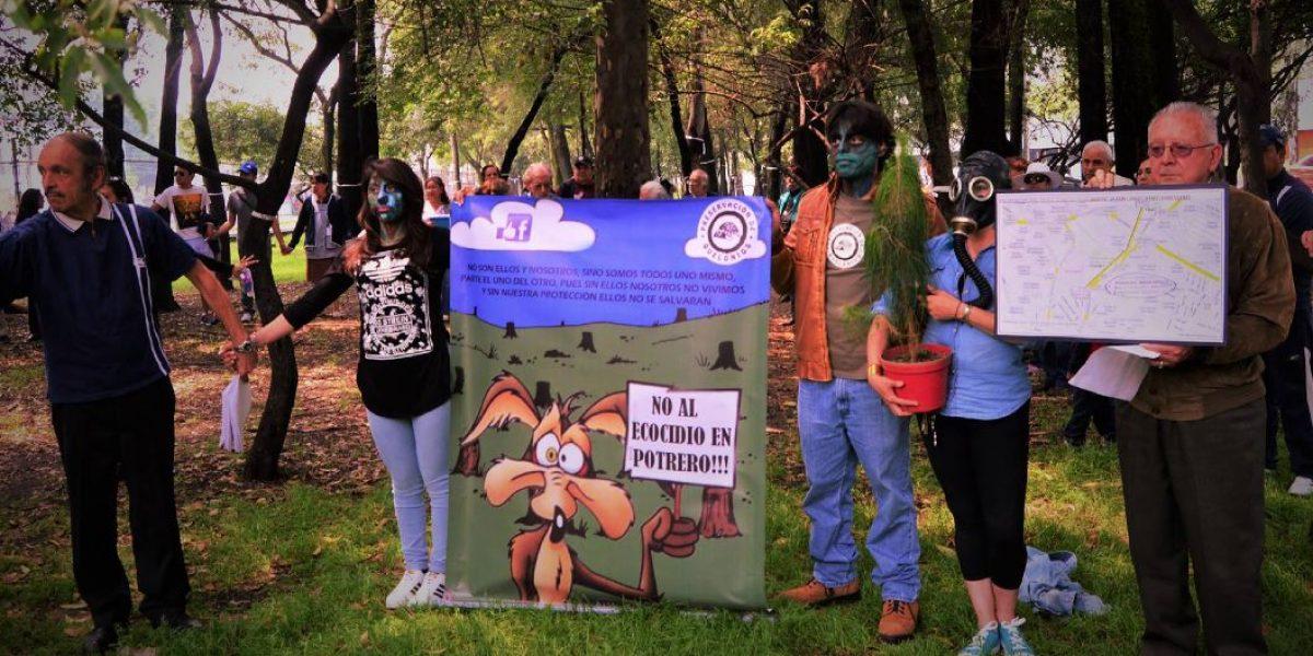 Suspenden viaducto Indios Verdes tras oposición vecinal