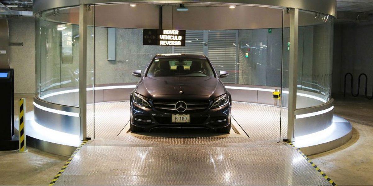 Así opera el estacionamiento robotizado de Reforma