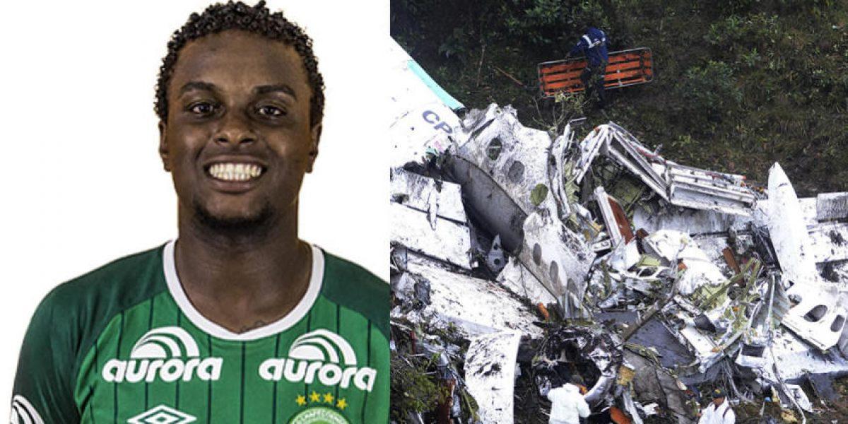 Jugador del Chapecoense aseguró que avionazo del equipo no fue accidente