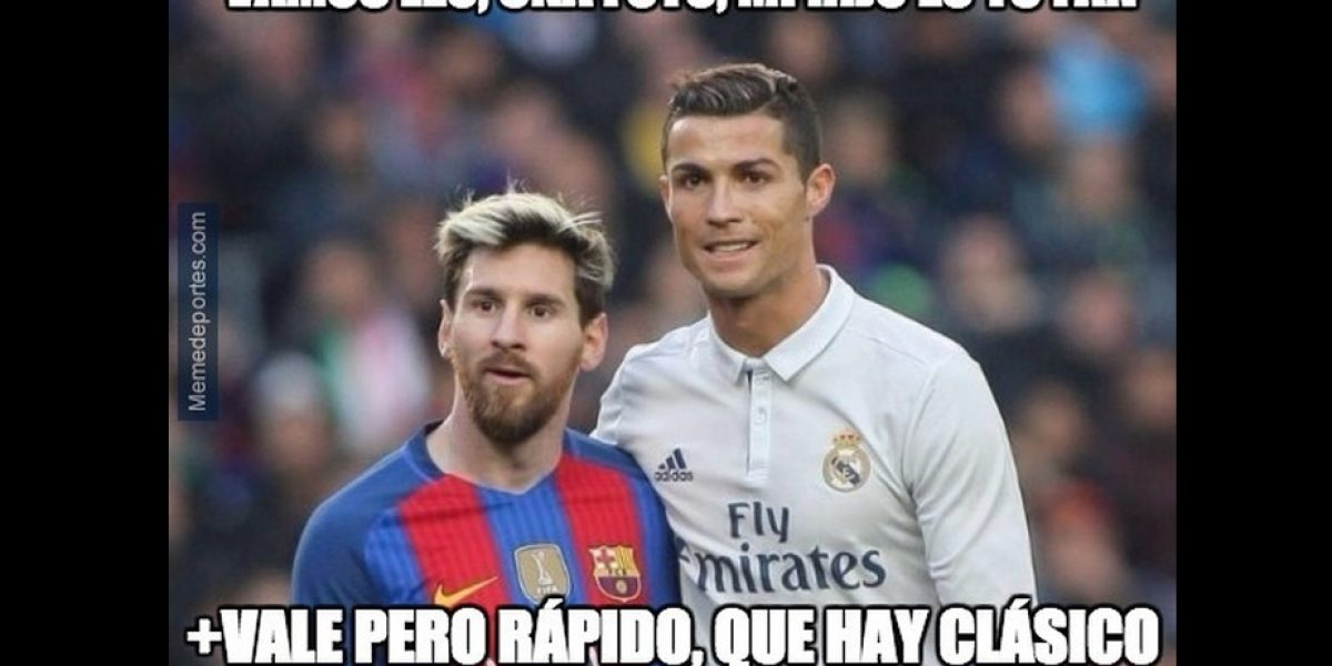 Los mejores memes del Clásico Español entre Barcelona y Real Madrid