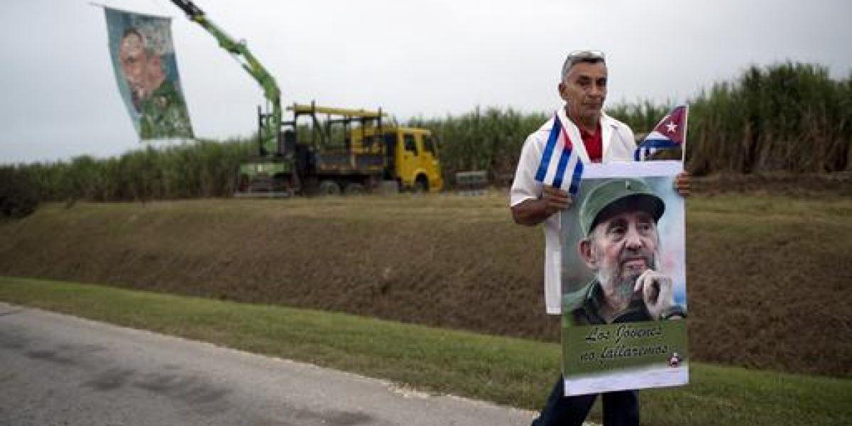 El último tramo de recorrido de cenizas de Fidel Castro por Cuba