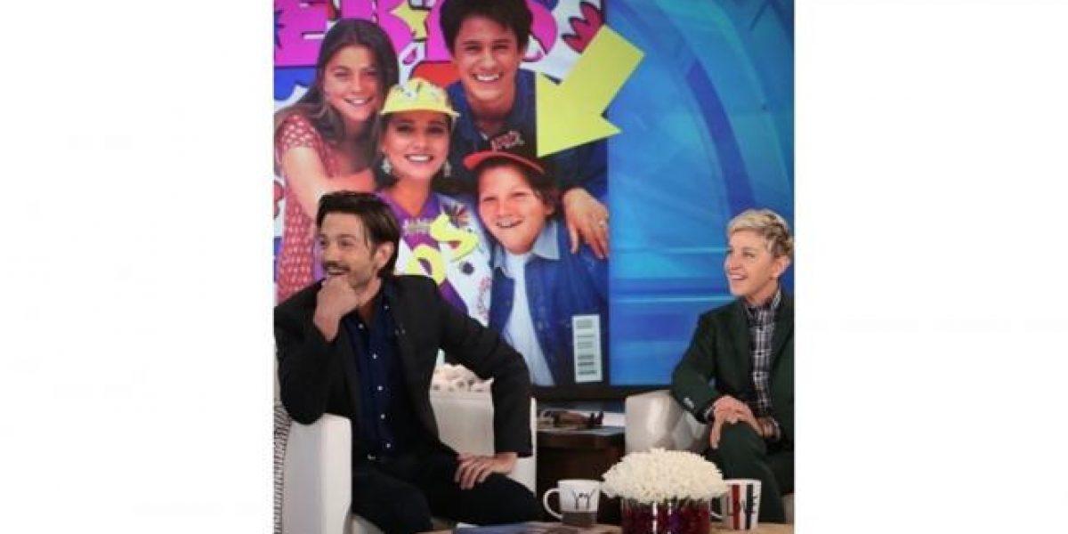 Ellen DeGeneres pone en aprietos a Diego Luna