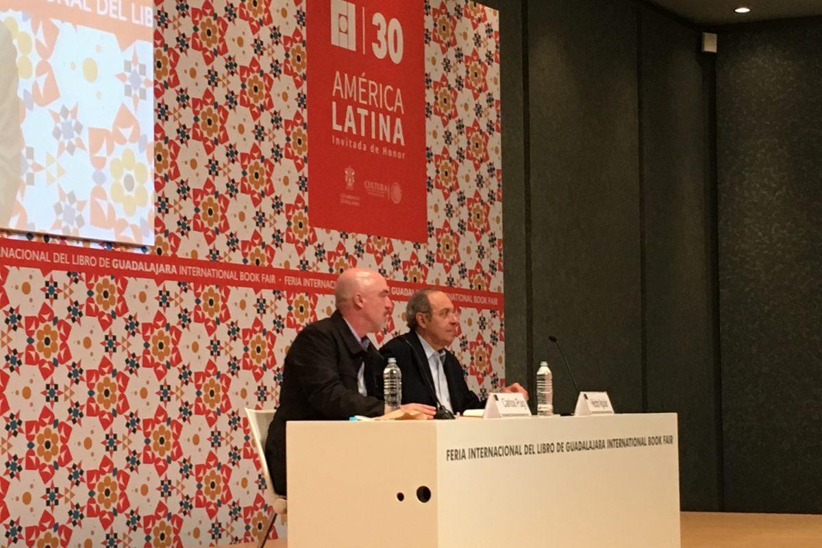 Héctor Aguilar Camín en la FIL de Guadalajara. Imagen Por: Foto: Mayra Torres de la O
